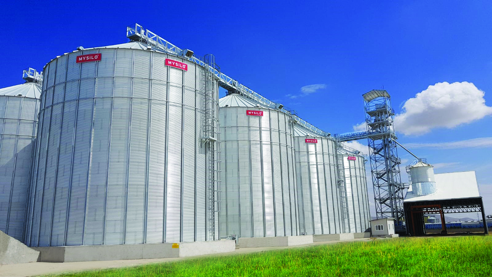 THE UNIQUE SILO MANUFACTURER FIRM IN THE EUROPE PROVIDING TURN-KEY SOLUTIONS